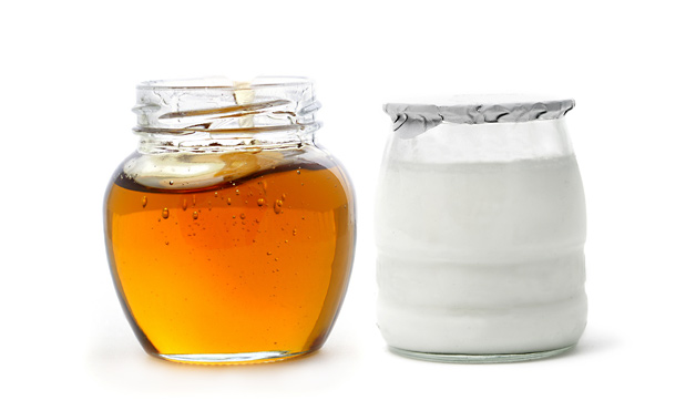 Maschera miele e yogurt