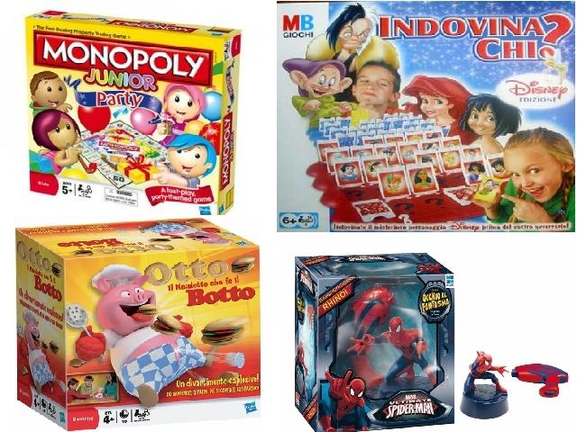 Regali Natale giochi da tavolo bimbo 5-7 anni