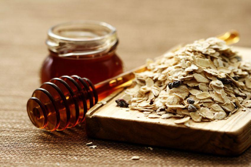 Scrub miele e avena
