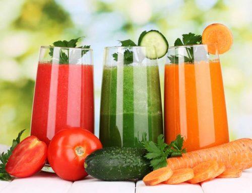 Centrifughe dimagranti: le ricette con frutta e verdura