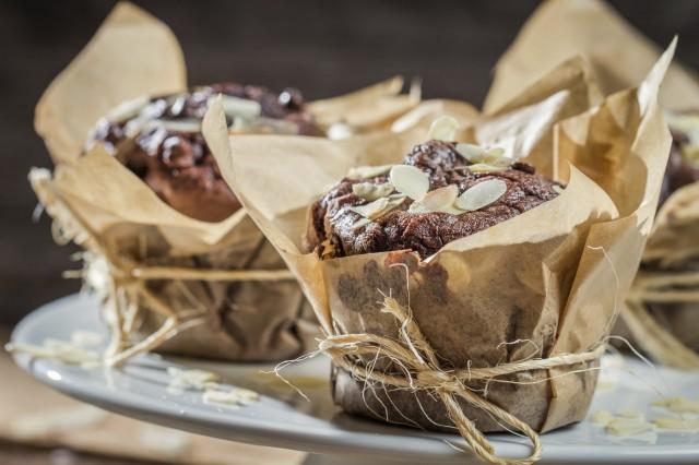 Idee riciclo panettoni e pandori Cupcakes panettone e cioccolato