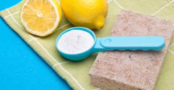 bicarbonato di sodio nella pulizia della casa
