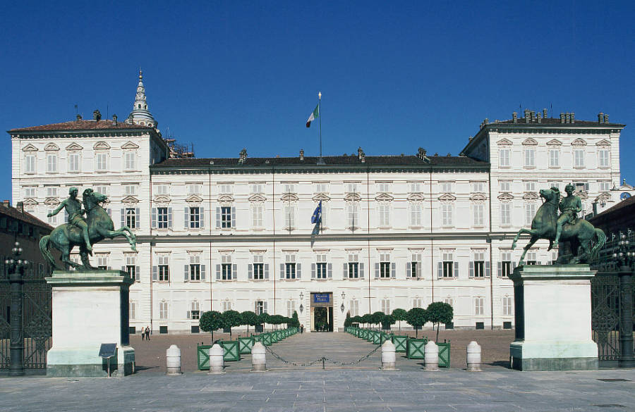 Palazzo Reale - piazzetta Reale