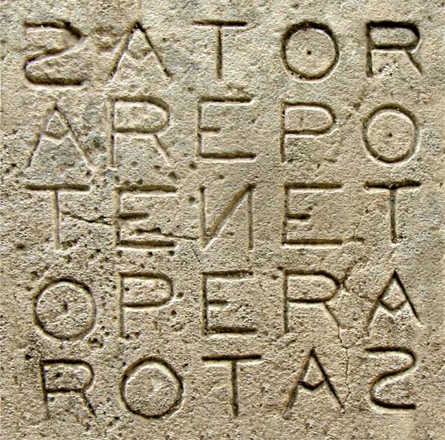 Quadrato di SATOR - Basilica di Santa Maria Maggiore
