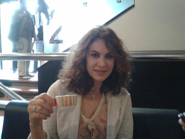 Un caffè con Elena Sofia Ricci
