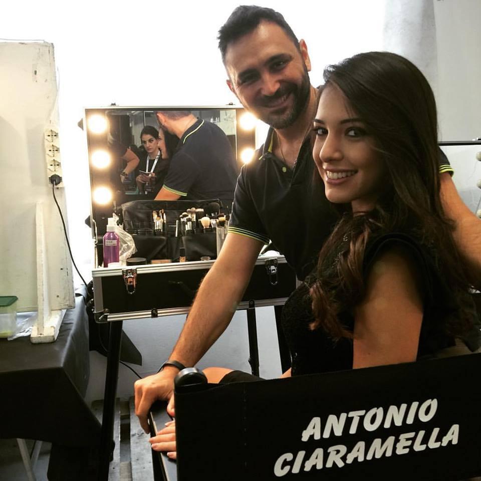 Miss Italia 2015 backstage: Antonio Ciaramella e Clarissa Marchese Miss Italia 2014