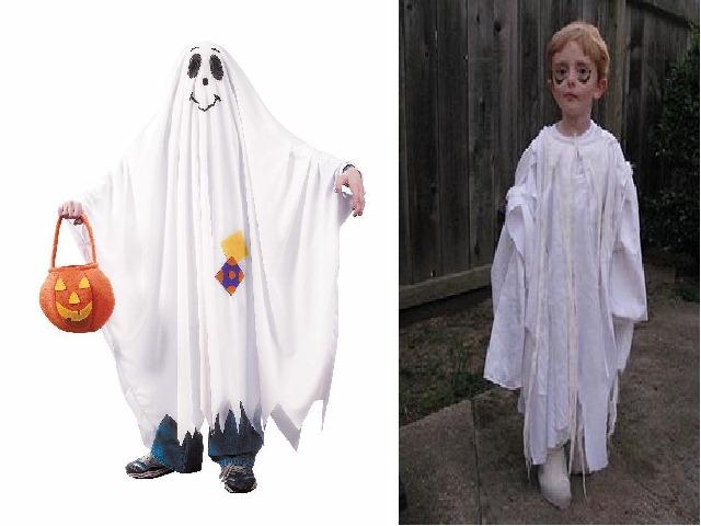 costume di halloween fantasma