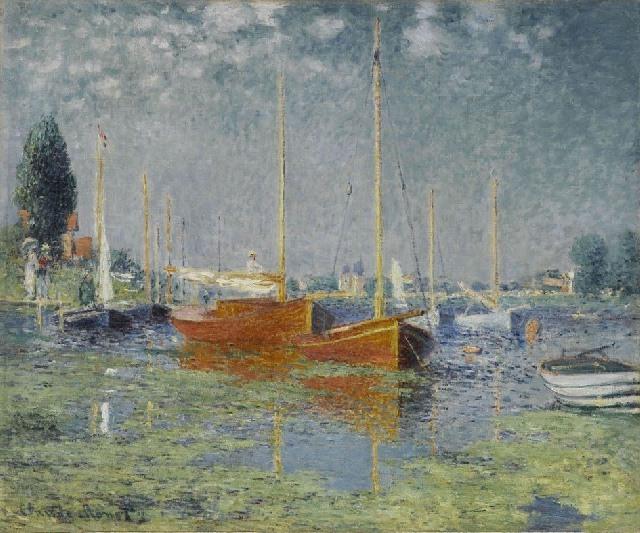 Monet - Argenteuil (1875)