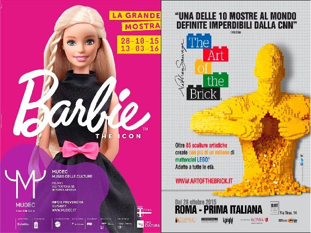 Mostre-Barbie-Mudec-Milano-Lego-Roma