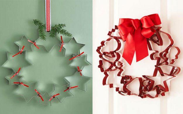 Ghirlanda natalizia fai da te tante idee da cui prendere - Addobbi di natale per finestre fai da te ...