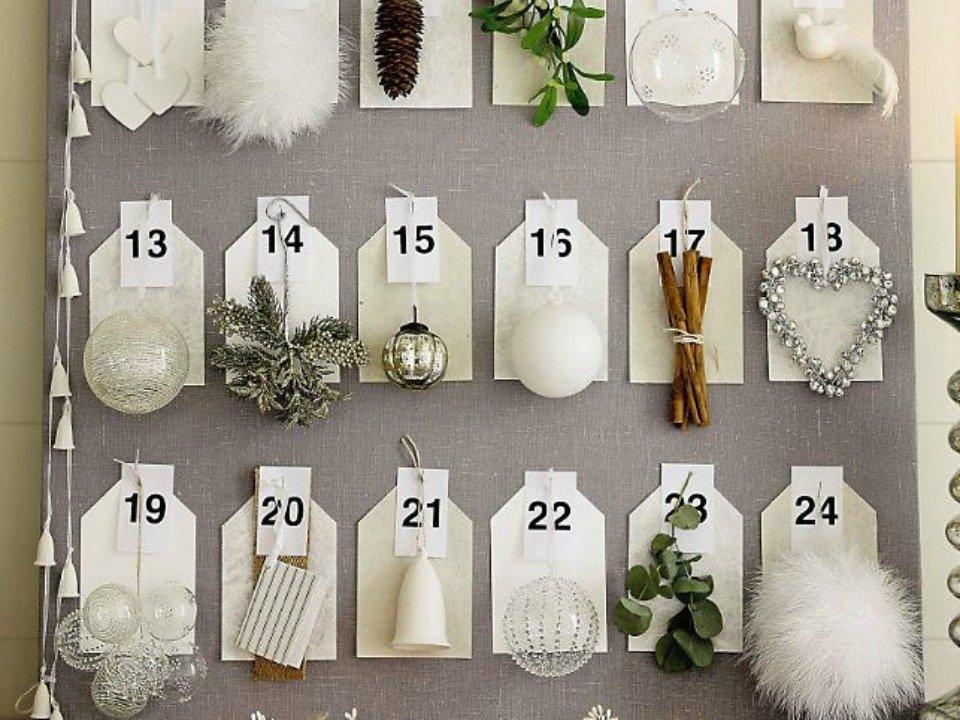 Calendario avvento fai da te inizia il conto alla rovescia for Calendario avvento fai da te