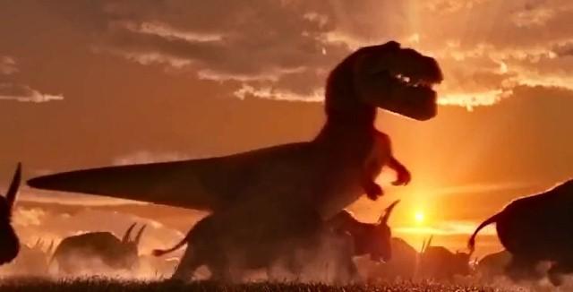 il-viaggio-di-Arlo-Disney-Pixar-T-Rex-western