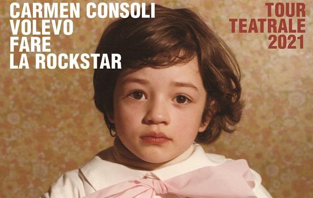 Carmen Consoli: al via il tour teatrale Volevo fare la rockstar (date)