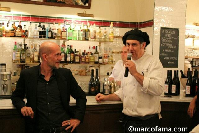 A Suon DiVino - Gian Marco Tognazzi e l'executive chef Andrea Misseri