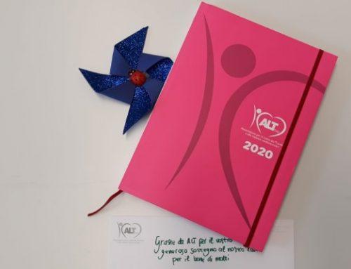 Idee regalo Natale: fai un regalo di cuore con l'Agenda del cuore di ALT