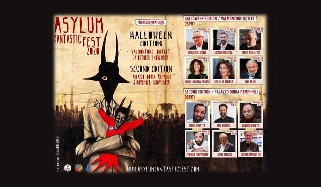 Asylum Fantastic Fest il Festival d'Arte del Fantasy italiano (programma)
