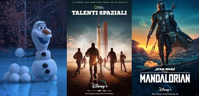 Autunno di novità su Disney+ tra original movie, serie TV e film di successo