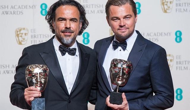 Bafta Awads 2016: Leonardo Di Caprio miglior attore protagonista per The Revenant