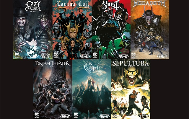 Batman: Death Metal – Band Edition, la miniserie evento in 7 numeri