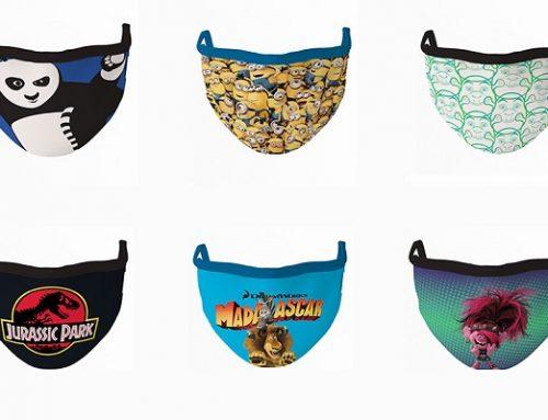 Cinemask: la mascherina con i personaggi più amati della Universal