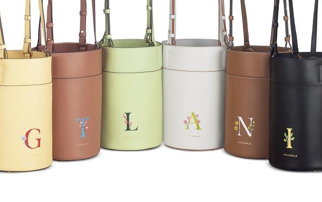 Coccinelle borse: presenta Say it With Flowers i nuovi secchielli in pelle