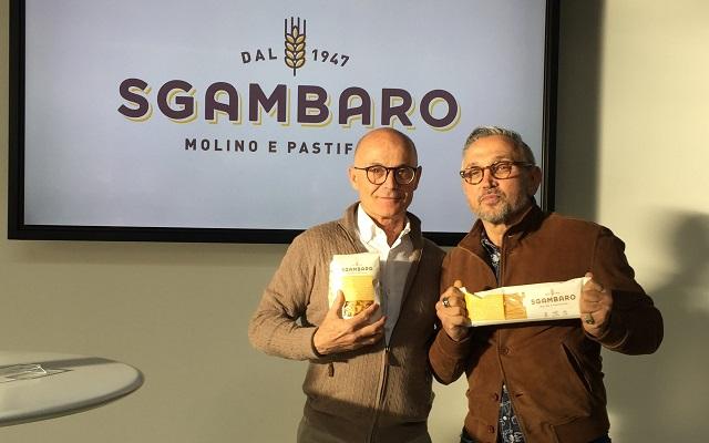 Chef Bruno Barbieri e pasta Sgambaro uniti per l'Antoniano