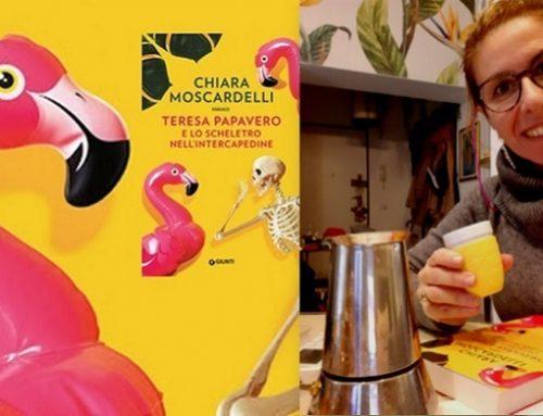 """Un caffè con Chiara Moscardelli e la """"Signora in giallo"""" di Strangolagalli"""