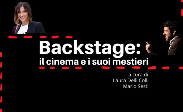 Backstage: il cinema e i suoi mestieri - la nuova iniziativa di CityFest