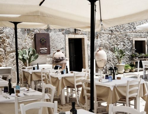 Cortile Arabo a Marzamemi annuncia la nuova champagneria sullo scoglio
