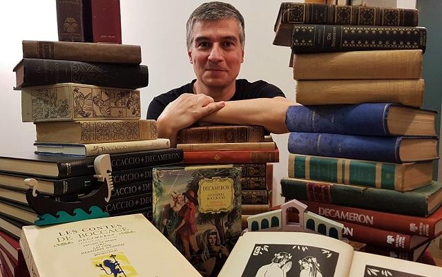 Decamerone Veneziano l'iniziativa FB dello scrittoreAlberto Toso Fei