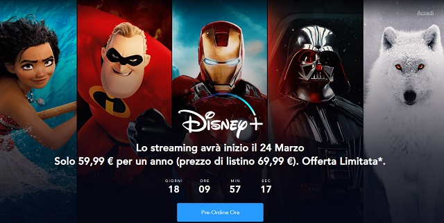 Disney+ la nuova piattaforma con tanti straordinari contenuti