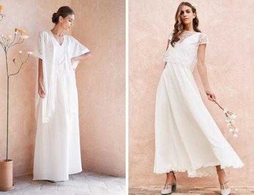 Eclektica: la capsule wedding scomponibile, perché un abito è per sempre