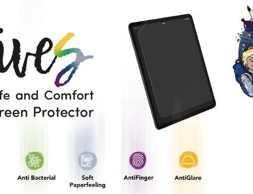 fives: la prima pellicola per iPad per la sicurezza ed il comfort
