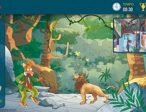 Geronimo Stilton Home Adventure. Viaggio nella Preistoria