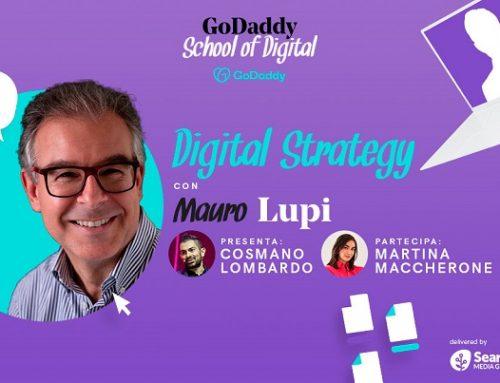 """Diventa """"cintura nera"""" di Digital strategy con GoDaddy e Mauro Lupi"""