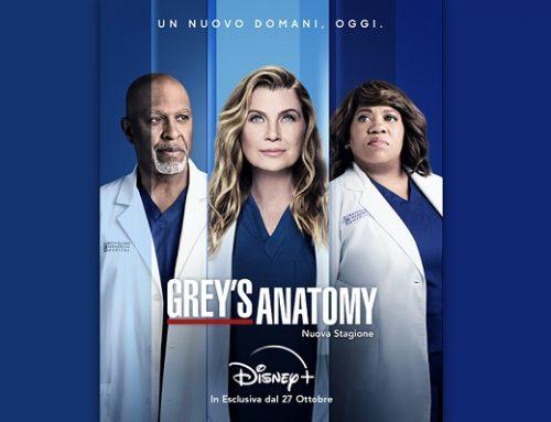 Grey's Anatomy: dal 27 ottobre arriva su Disney+ la 18ª stagione
