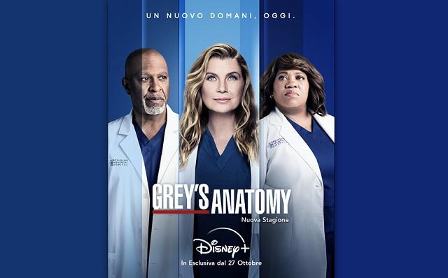 Grey s Anatomy dal 27 ottobre arriva su Disney+ la 18ª stagione