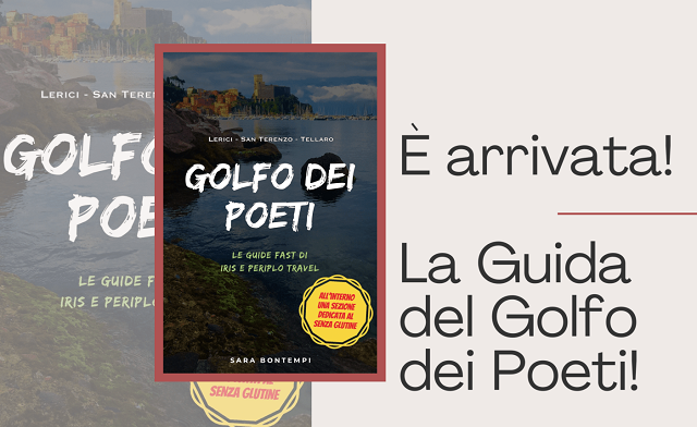 È arrivata la guida del Golfo dei Poeti di Iris e Periplo Travel