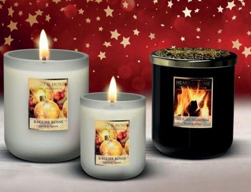 Heart & Home, la candela che non ti aspetti, profuma di Natale