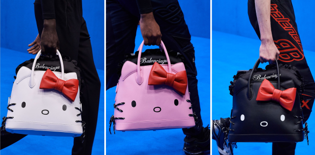 Capsule collection Balenciaga HK