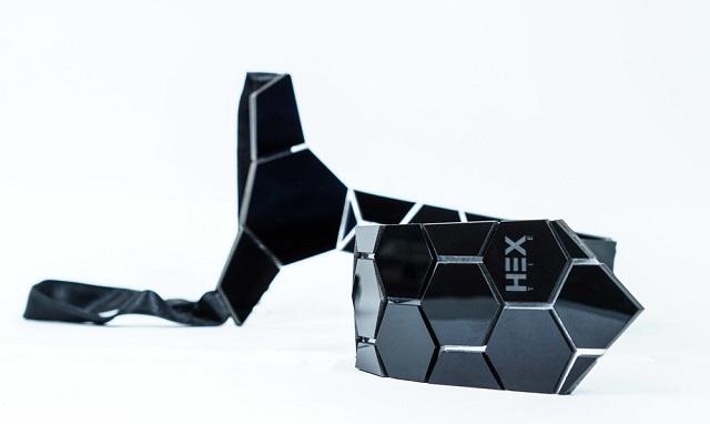 Hex tie modello Honeycomb