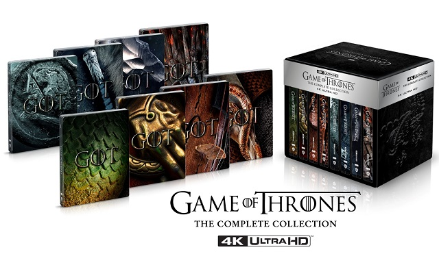 Il Trono di Spade Deluxe Steelbook Limited Edition in 4K Ultra HD Blu-ray