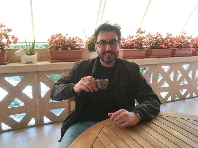 Alessandro Grande un caffè con intervista