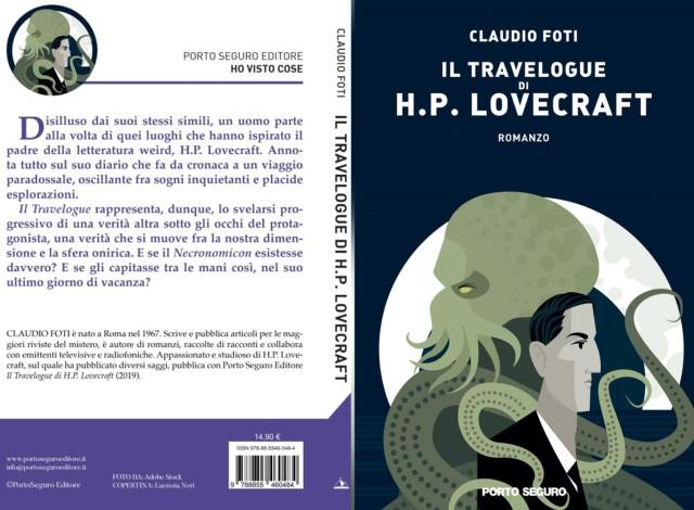Il Travelogue di H.P. Lovecraft: recensione del nuovo libro di Claudio Foti