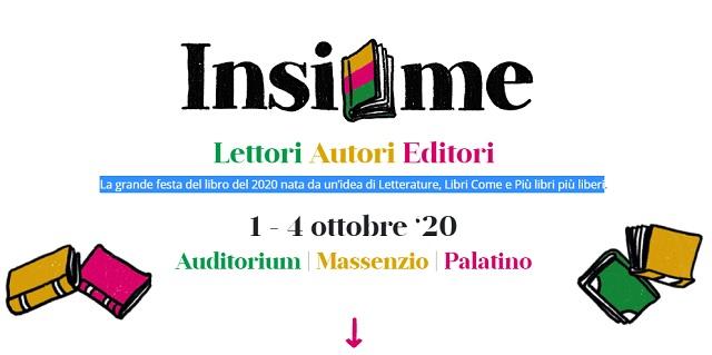 Insieme - Lettori, autori, editori dall'1 al 4 ottobre a Roma