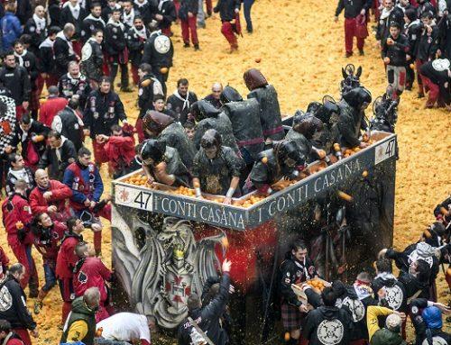 """Storico Carnevale di Ivrea: omaggio speciale in """"CREATORS – THE PAST"""""""
