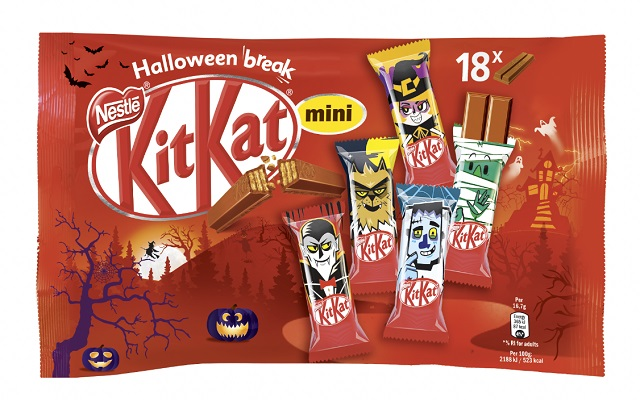 Halloween break: KitKat si trasforma per uno spuntino da urlo!