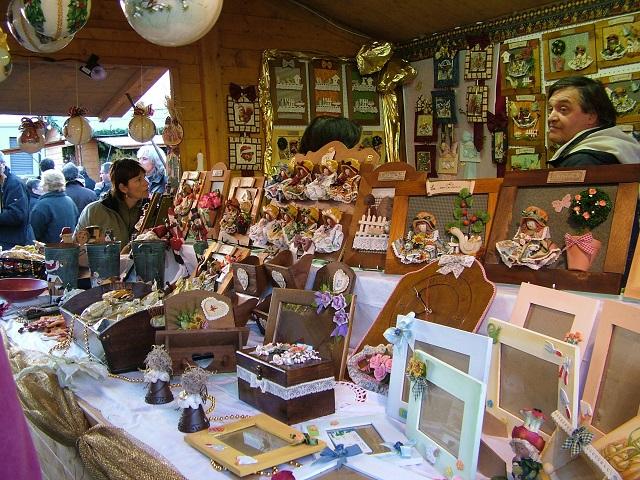 mercatini di Natale legno