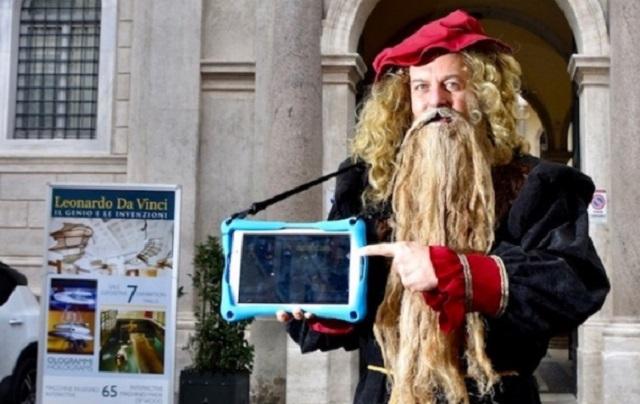 Mostra di Leonardo da Vinci alla scoperta degli angoli più belli di Roma