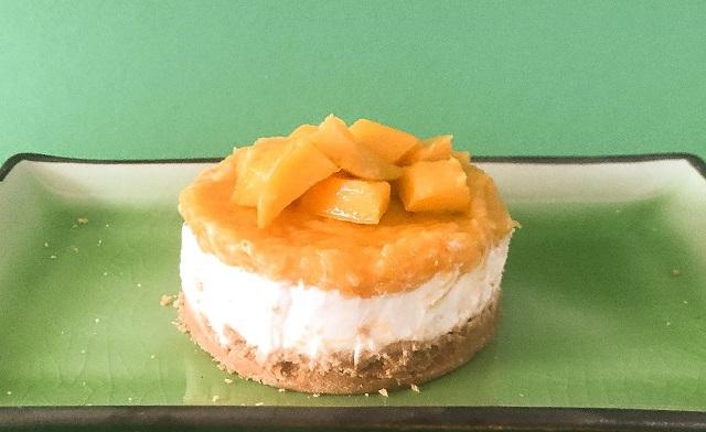 Baby Cheescake al mango ricetta verde anche per bambini sotto l'anno